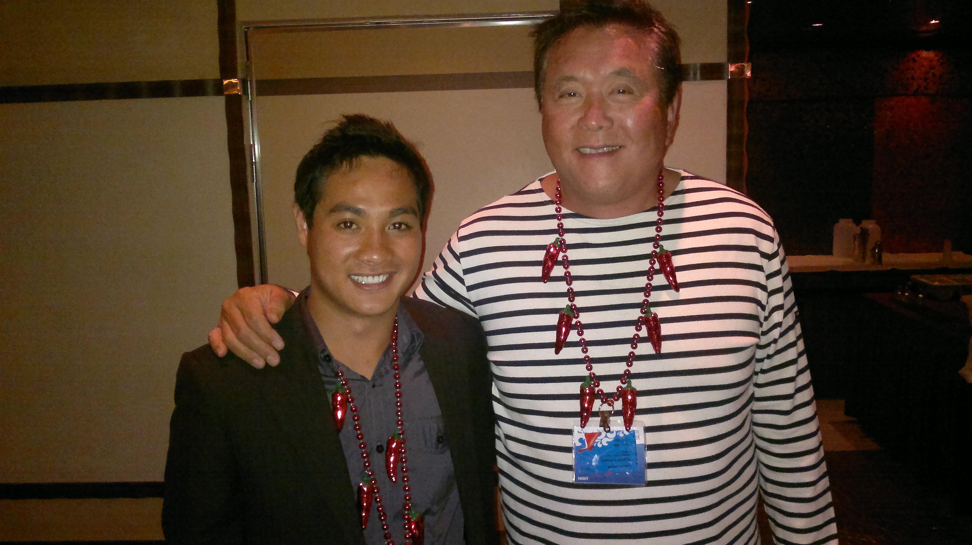 Tam Dang & Robert Kiyosaki