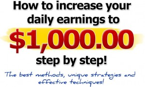 Earn 100% Commission