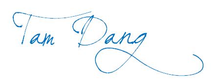 Tam Dang Signature